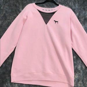 Baby pink crew neck size M